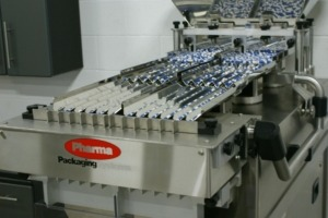 Tablet counting system - 12 linear